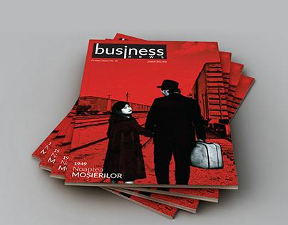 Cover Design for Business News magazine