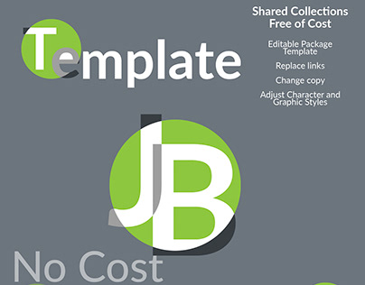Free Illustrator Template Download - Package 7in Design