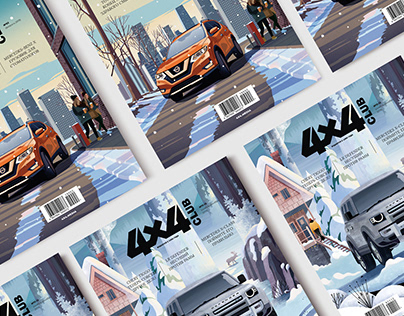 Covers / 4x4Club magazine & Nissan/Land Rover Defender
