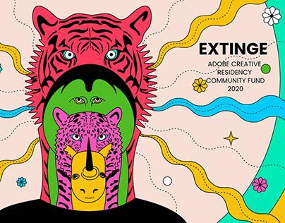 EXTINGE - Adobe Creative Residency Community Fund