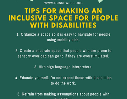 Tips for Making an Inclusive Space