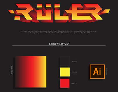 Album Cover: Ruler - Descent into Hades