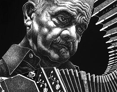 Astor Piazzolla, , bandoneonist, tango musician
