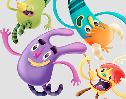 Conamigos - Character Design