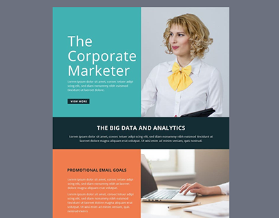 Marketer Email Template