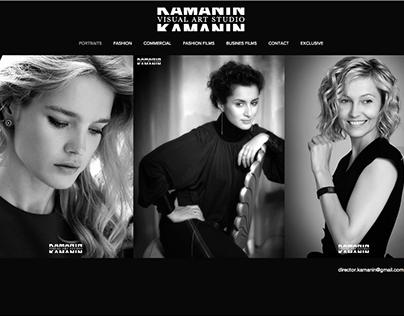 Kamanin Logo&website