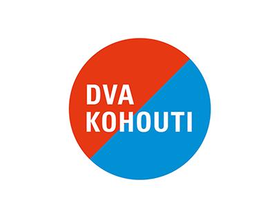 Dva kohouti restaurant – visual identity