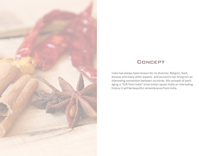Packaging Concept for Spices