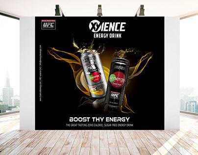 Advertising Banner Design Based on Energy Drink