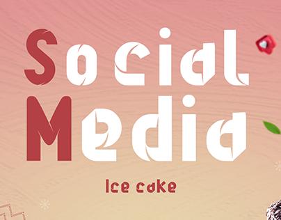 Ice cake - social media