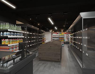 Avocado Plus Retail shop Interior Design