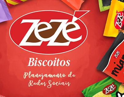 Redes Sociais - Biscoitos Zezé