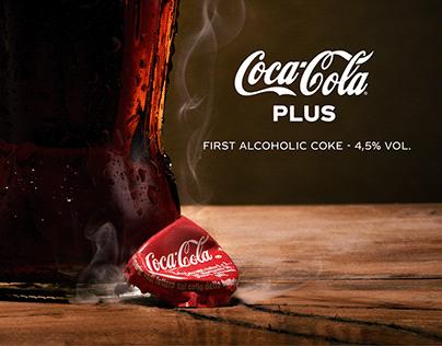 Coca Cola - First alcoholic Coke - Print Campaign