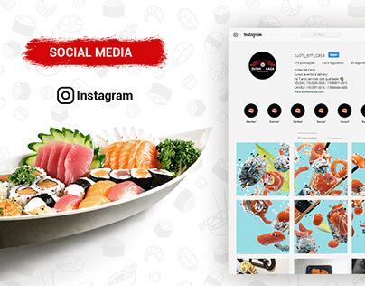 Rebranding | Sushi em Casa