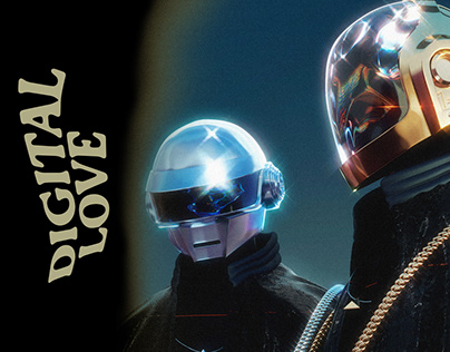 DIGITAL LOVE - Daft Punk - Last album cover