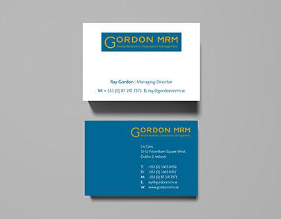 Gordon MRM Identity