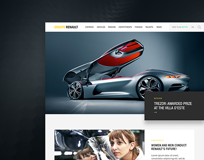 Groupe Renault digital identity