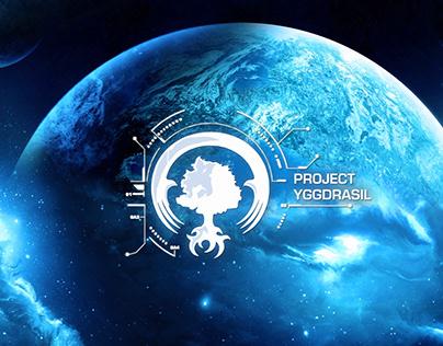 Project Yggdrasil logo reveal animation