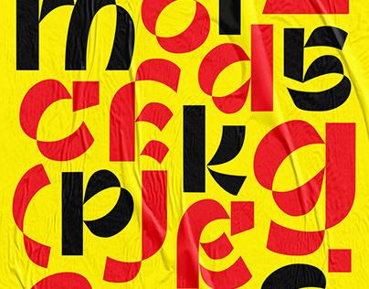 Pasaraya - Typeface Design