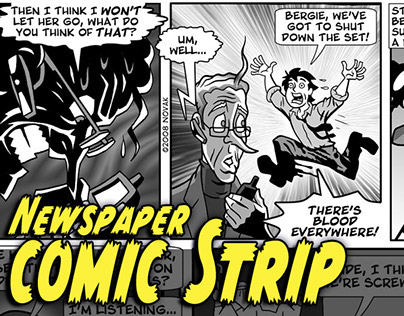 Newspaper Comic Strip