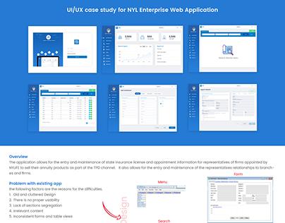 UI/UX case study of ALS Enterprise Web Application