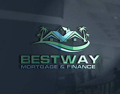 real estate, property, construction logo design