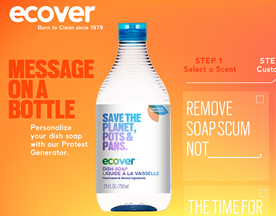 Ecover Rebrand
