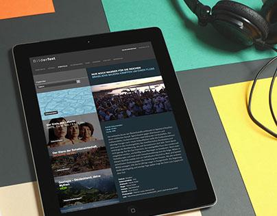 Bilderfest Mobile Website