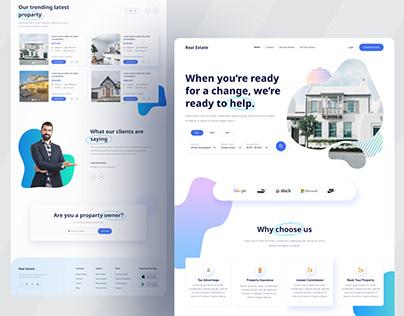 Real Estate Web UI Exploration