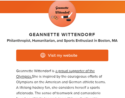 About.me - Geannette Wittendorf