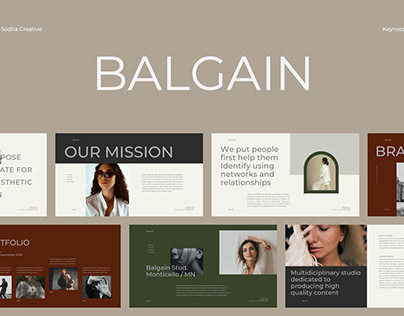 Balgain Presentation Template