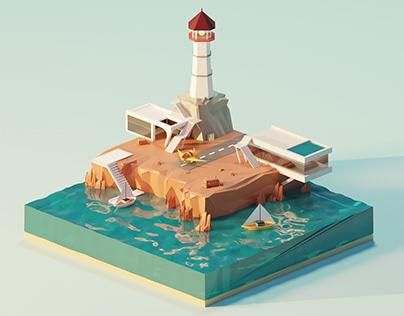Private island | blender