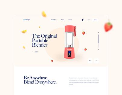 BlendJet - Website Redesign