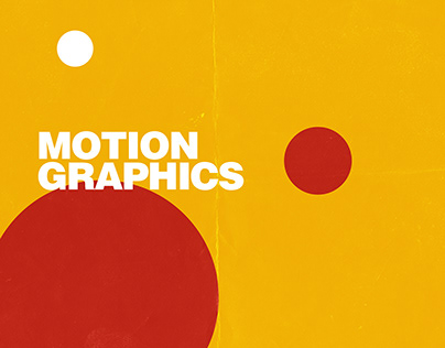 Motion Graphics Vol. 1