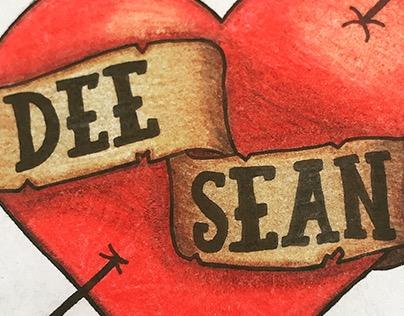 Dee & Sean Heart