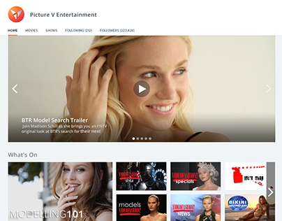 Video-On-Demand Platform Concept