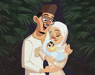 Astro Raya Illustration 2020