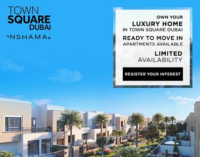 Town Square Dubai :: Real Estate LG Campaign
