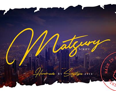 Matsury Script (Free Download)