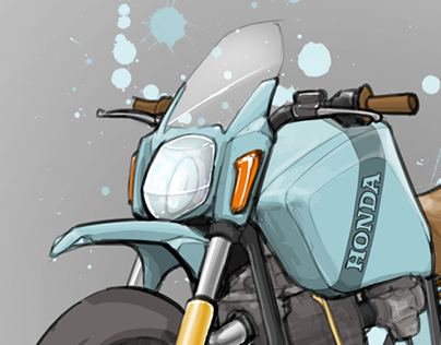 Dual-Sport Render