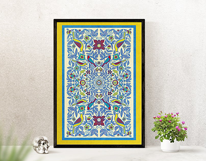 Ethnic Pattern poster