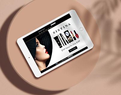 Sistina Ad Design for Cosmetique Inc.
