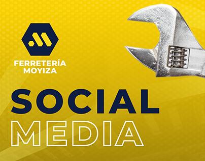 Redes sociales Ferretería Moyiza