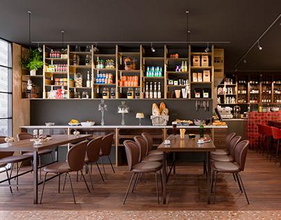 Visualisierung Restaurant, Köln