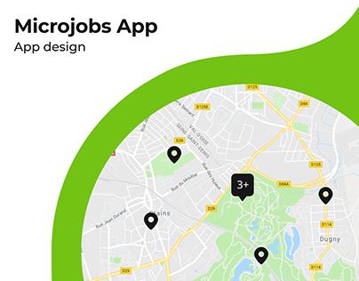 UX/UI Design: Microjobs Mobile App