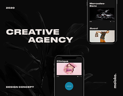 Moloko — agency website