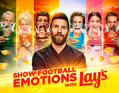 Lay's. Show Football Emotions