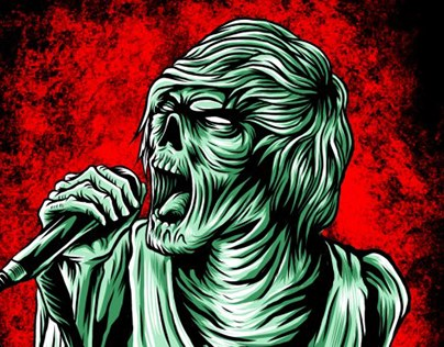 THE ZOMBIE SONG ARTWORKS