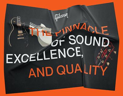 Gibson — new design