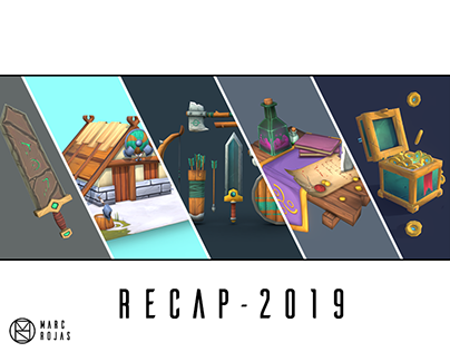 3D projects recap - 2019